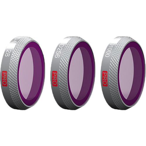 PGYTECH Pro ND Lens Filter Kit for DJI Mavic 2 Zoom (ND128/256/1000)