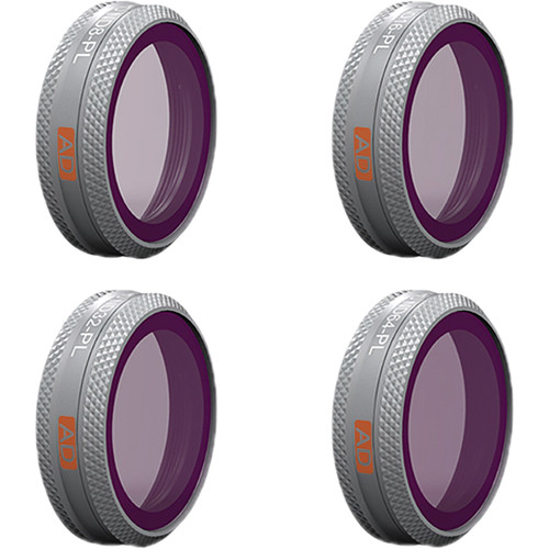 PGYTECH Advanced Lens ND-PL Filter Kit for DJI Mavic 2 Zoom (Set of 4)