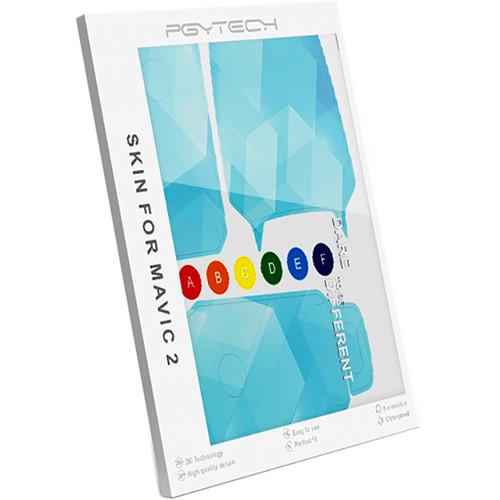PGYTECH HA-050 Skin for DJI Mavic 2 (Blue Block)