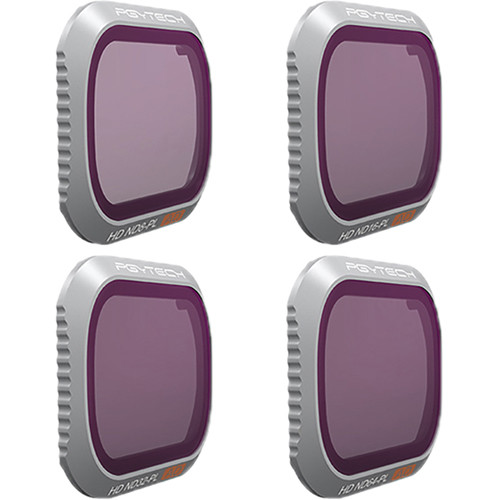 PGYTECH Advanced ND Lens Filter Kit for DJI Mavic 2 Pro (ND8/16/32/64)