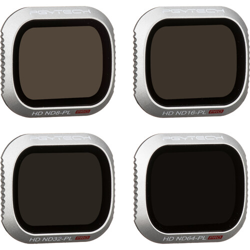 PGYTECH Pro Lens ND-PL Filter Kit for DJI Mavic 2 Pro (Set of 4)