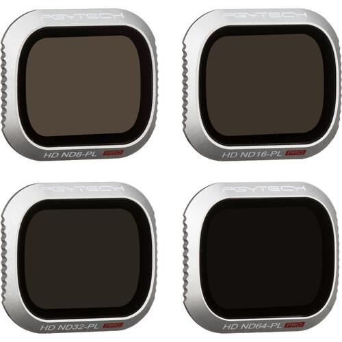 PGYTECH Pro Lens ND-PL Filter Kit for DJI Mavic 2 Pro (Set of 4)