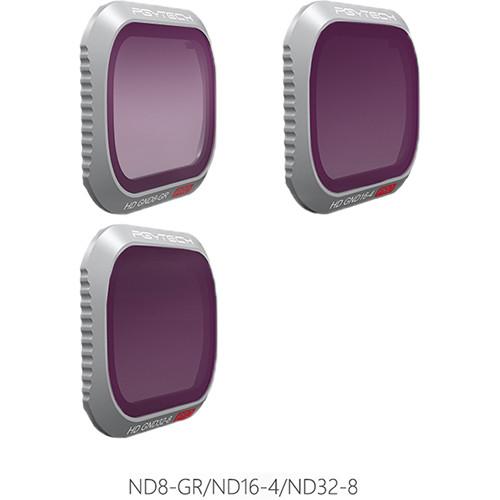PGYTECH Pro ND Gradient Filter Kit for DJI Mavic 2 Pro (ND8-GR/ND16-4/ND32-8)
