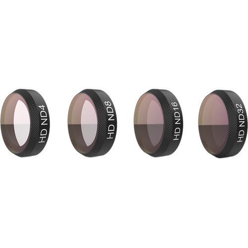 PGYTECH ND 4-Filter Set for DJI Mavic Air (ND4, 8, 16, 32)