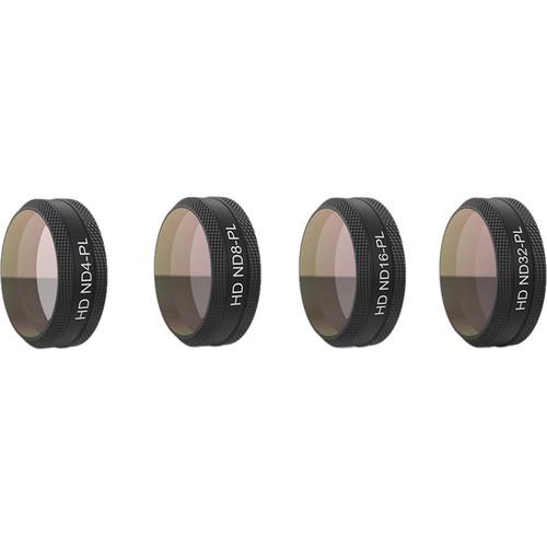 PGYTECH ND-PL 4-Filter Set for DJI Mavic Air (ND4-PL, 8, 16, 32)