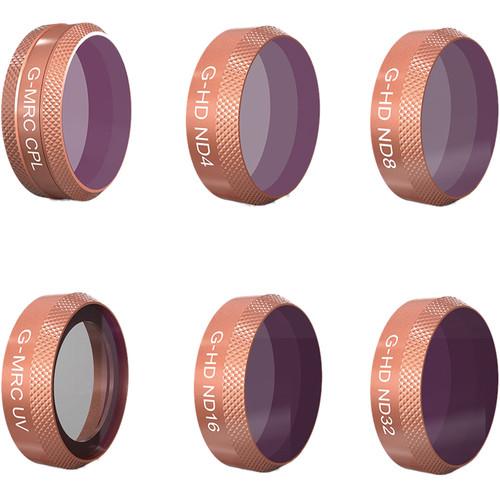 PGYTECH Advanced Lens Filter Kit for DJI Mavic Air (UV / CPL / ND4/8/16/32)