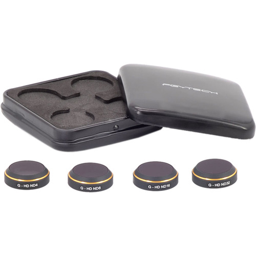 PGYTECH ND Filter Set for DJI Mavic Pro Drone (4-Pack)
