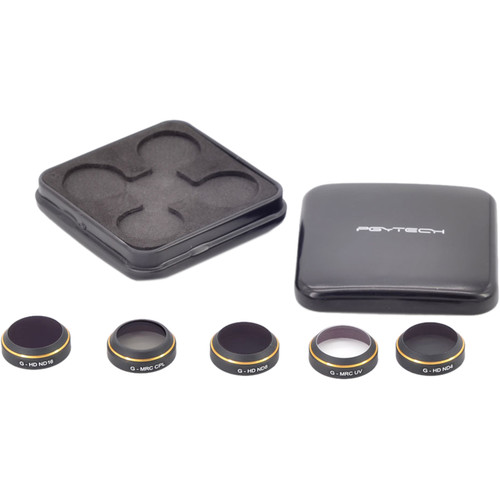 PGYTECH G-Uv ND4 8 16 Cpl Lens Filter 5Pcs Set  For DJI Mavic
