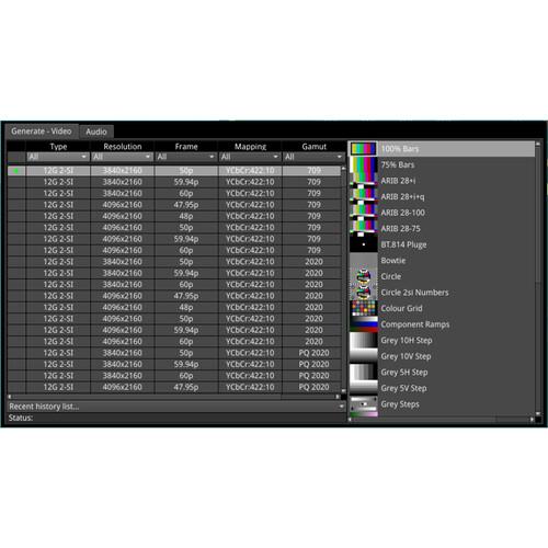 PHABRIX Audio/Video Signal Generator for Qx IP Analyzer