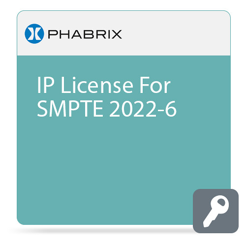 PHABRIX IP Encap/De-Encap License for Qx 12G Analyzer