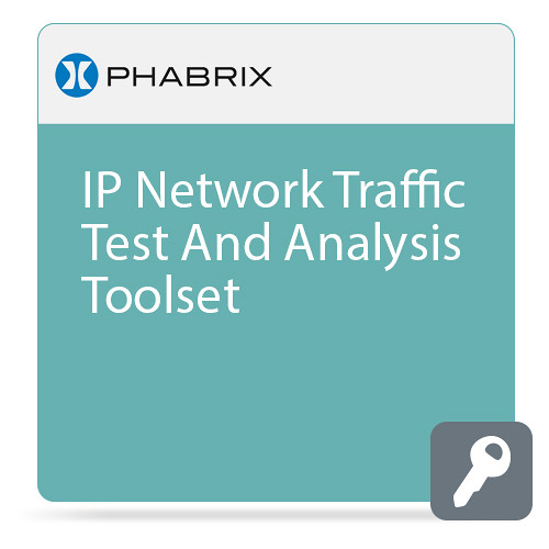 PHABRIX IP Network Traffic Analysis Tools for Qx IP and Qx 12G Analyzers