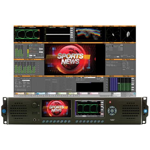 PHABRIX RX2000 HD/SD-SDI Waveform Monitoring/Testing Analyzer with One Analyzer Module (2 RU)