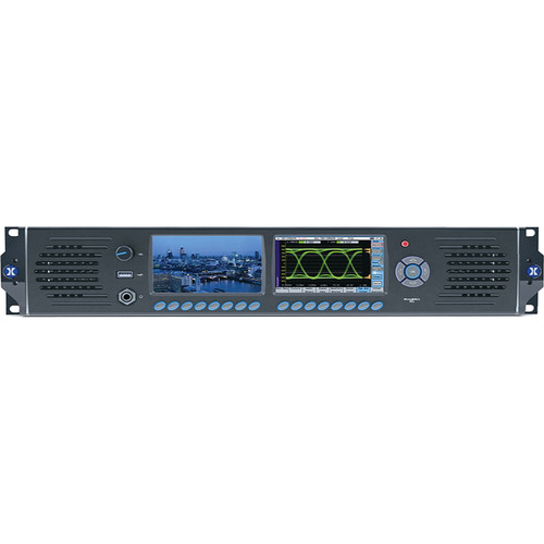 PHABRIX RX2000 3G/HD/SD SDI Waveform Monitoring/Testing Analyzer for OB with 3G/Eye/Jitter/Display Modules (2 RU)
