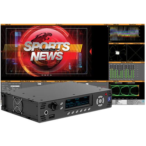 PHABRIX RX500 HD/SD-SDI Waveform Monitoring/Testing Analyzer with One Analyzer & Generator Module (1 RU)