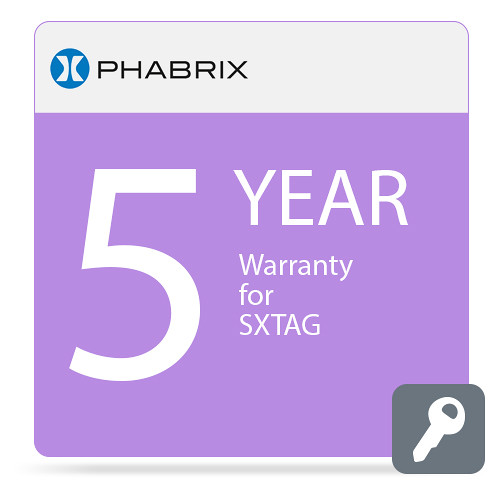 PHABRIX 5-Year Extended Warranty for PHSX Series