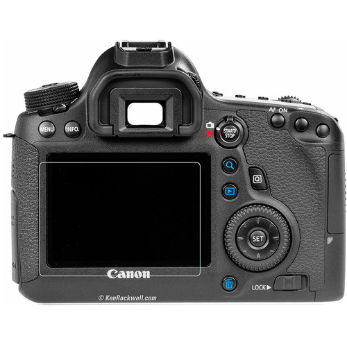 Phantom Glass LCD Screen Protector for Canon EOS 6D