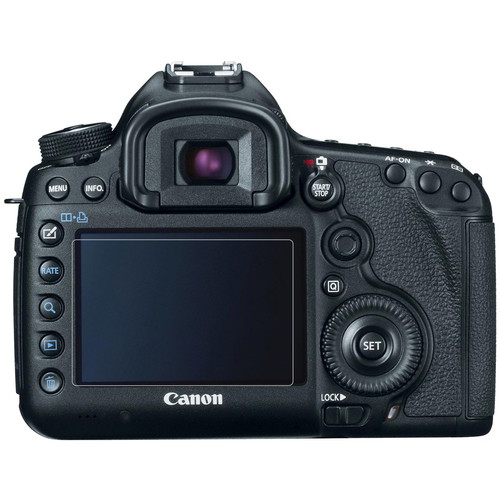 Phantom Glass LCD Screen Protector for Canon EOS 5D Mark III, 5DS, or 5DS R