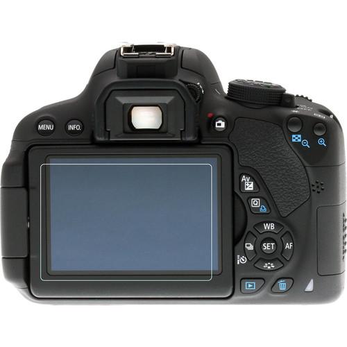 Phantom Glass LCD Screen Protector for Canon EOS Rebel T4i, T5i, T6i, T6s, 70D, 80D, or 7D Mark II