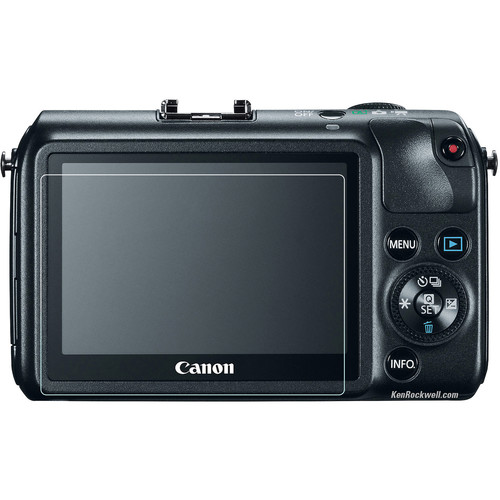 Phantom Glass LCD Screen Protector for Canon EOS M or Sony DSC-RX1