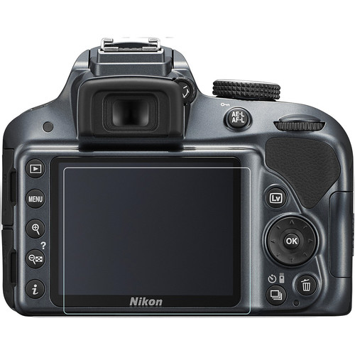Phantom Glass LCD Screen Protector for Nikon D3100, D3300, or D3400