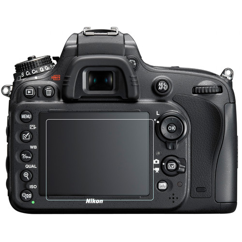 Phantom Glass LCD Screen Protector for Nikon D600, D610, or D750