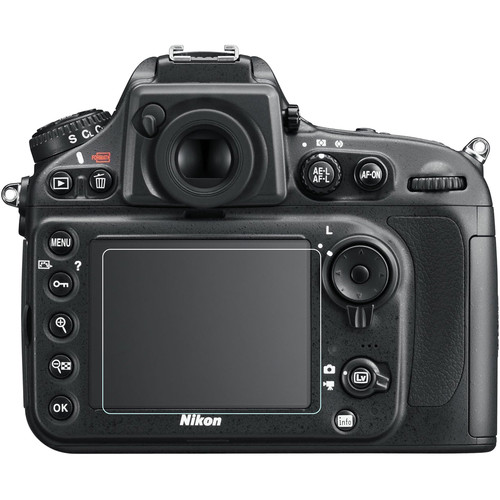 Phantom Glass LCD Screen Protector for Nikon D500, D800, D810, D7100, D7200, Df, or Leica X Vario