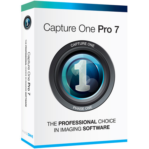 Phase One Capture One Pro 7 (Boxed Version)
