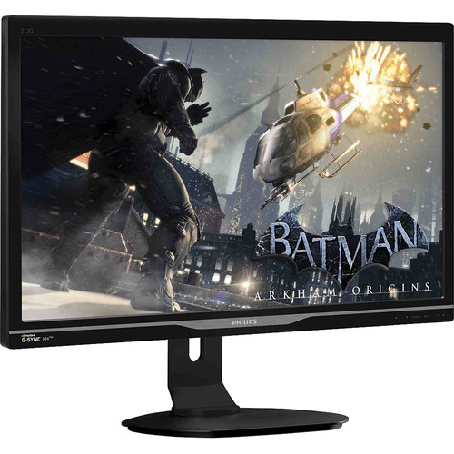 """Philips Brilliance 27"""" LCD Monitor with NVIDIA G-SYNC Technology (Black)"""