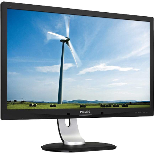 "Philips 272S4LPJCB 27"" LED-Backlit LCD Monitor with Speakers (Black)"