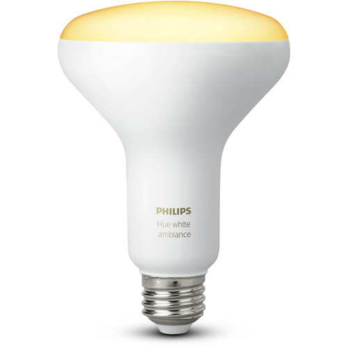 Philips Hue BR30 Single Bulb (White Ambiance, 2-Pack)