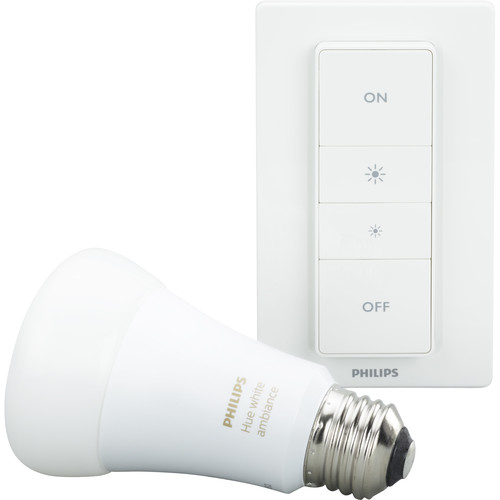 Philips Hue White Ambiance A19 Recipe Kit