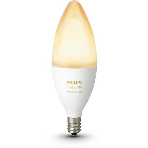 Philips Hue E12 Single Bulb (White Ambiance)