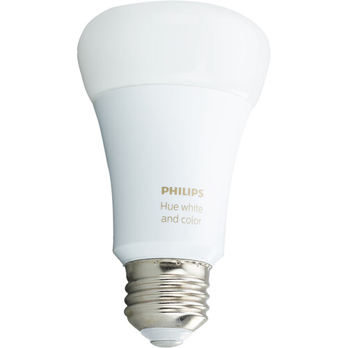 Philips Hue A19 Bulb with Bluetooth (White and Color Ambiance)