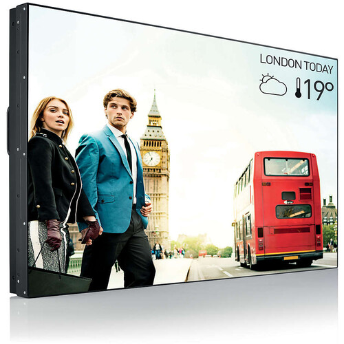 """Philips 55"""" Commercial Video Wall Full HD Tiling 500 CD/M2 Display"""