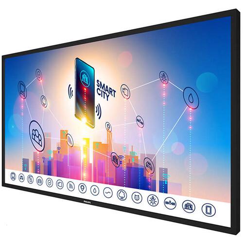 "Philips 86"" 4K Prosumer 10-Point IR Touch 4K Ultra HD (3840 X 2160) 350 CD/M2 Display"