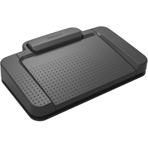 Philips USB Transcription Foot Control (3-Pedal Design)