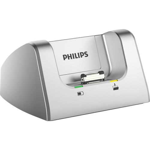 Philips Pocket Memo Docking Station for Philips DPM8000, DPM7000, and DPM6000 Series Dictation Recorders