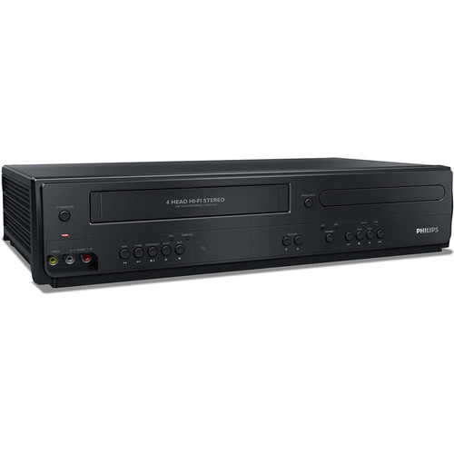 Philips DVP3355V DVD Player/VCR Combo (Refurbished)