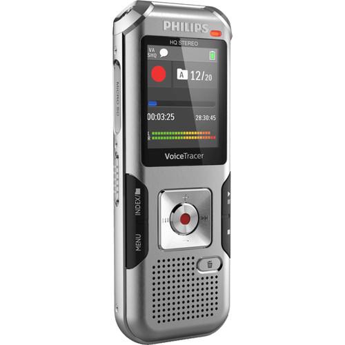 Philips DVT4010 VoiceTracer Digital Voice Recorder