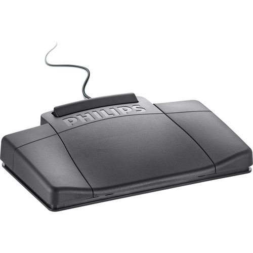 Philips LFH2210 Transcription Foot Pedal for Analog Systems