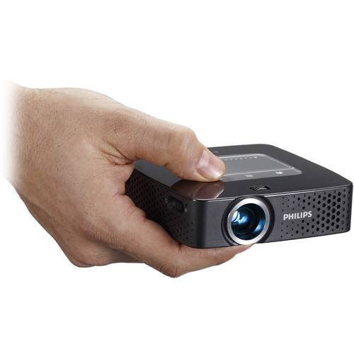 Philips PicoPix PPX3614/F7 140-Lumen FWVGA DLP Pico Projector with Wi-Fi