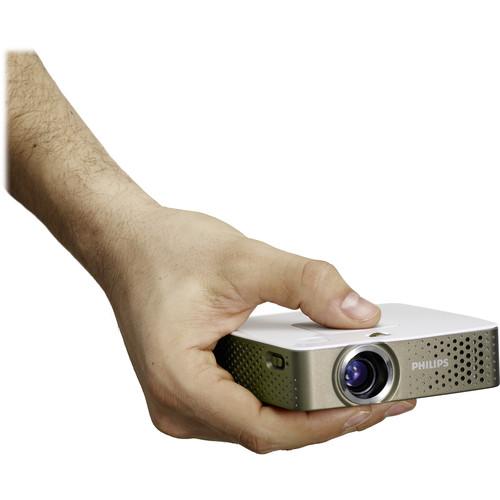 Philips PicoPix PPX3414 140-Lumen FWVGA Pocket Projector