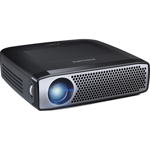 Philips PicoPix PPX4935 350-Lumen HD DLP Pico Projector with Wi-Fi