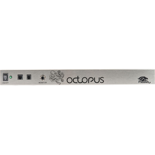 Phoenix Audio MT454-PSTNP Octopus USB Base Unit with Analog Telephone Interface & Power Amplifier
