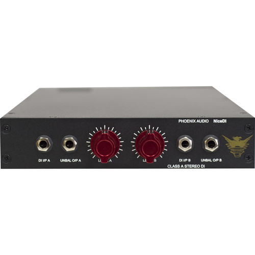 Phoenix Audio Nice DI Stereo Class-A Active DI