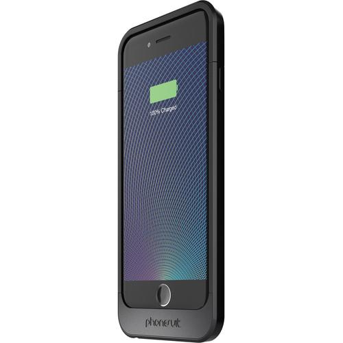 PhoneSuit Elite 6 PRO Battery Case for iPhone 6/6s (Metallic Black)