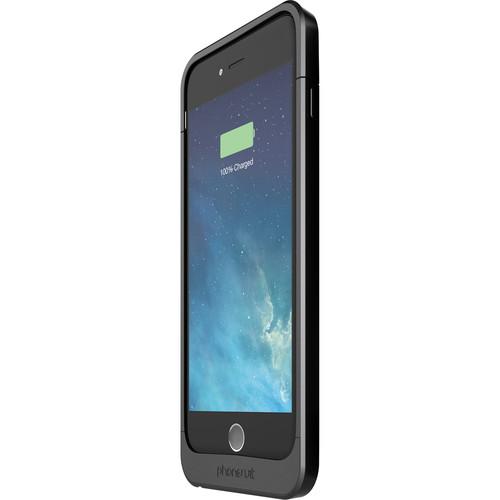 PhoneSuit Elite 6 Battery Case for iPhone 6 Plus/6s Plus (Metallic Black)