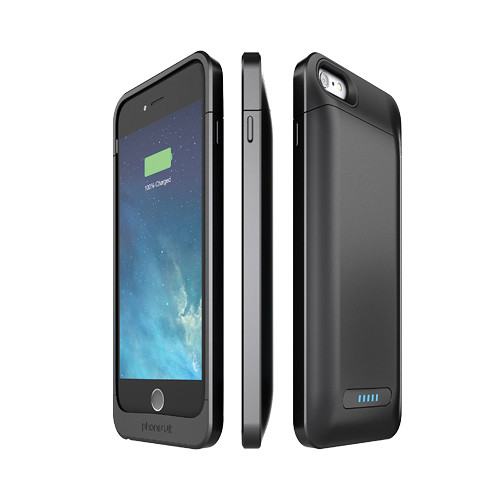 PhoneSuit Elite 6 PRO Battery Case for iPhone 6 Plus/6s Plus (Metallic Black)
