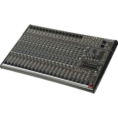 Phonic AM2442FX 24-Channel Studio & Live Mixer with Built-In FX