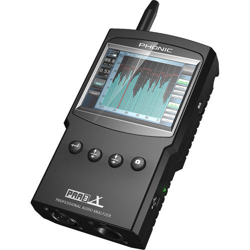 Phonic PAA3X Handheld Professional Audio Analyzer with USB